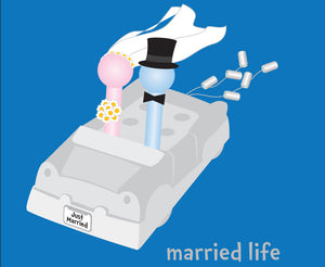 Married Life Magnet
