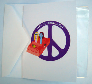 Life is Peaceful Greeting Card