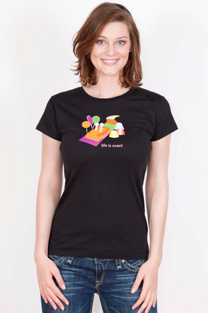 Women's Candyland T-shirt - Life is Sweet