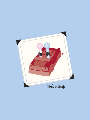 Men's Photography T-shirt - Life's a Snap