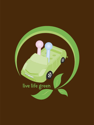 Women's Toyota Prius Game of Life T-shirt - Live Life Green