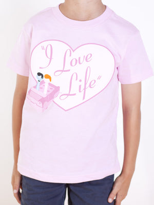 Kids I Love Lucy T-shirt - I Love Life