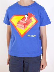 Kids Superman T-shirt - Life is Super