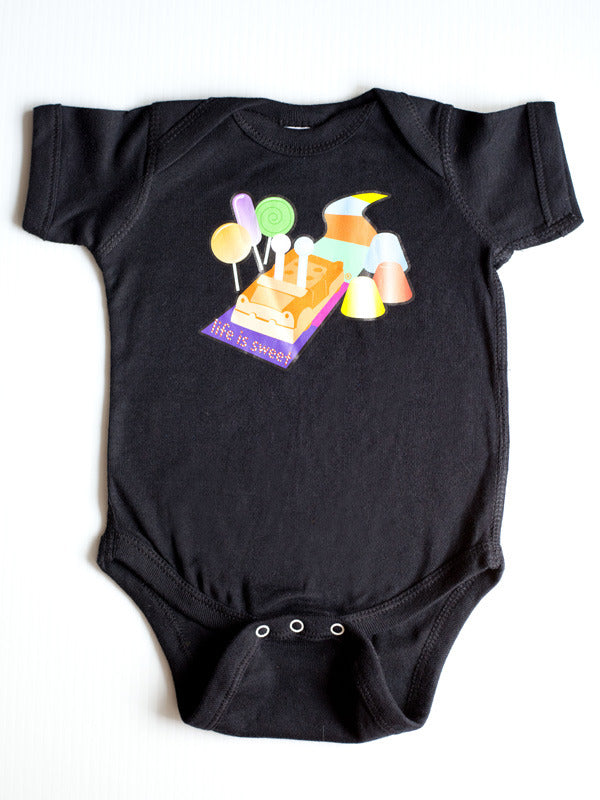 Candyland Baby Onesie - Life is Sweet