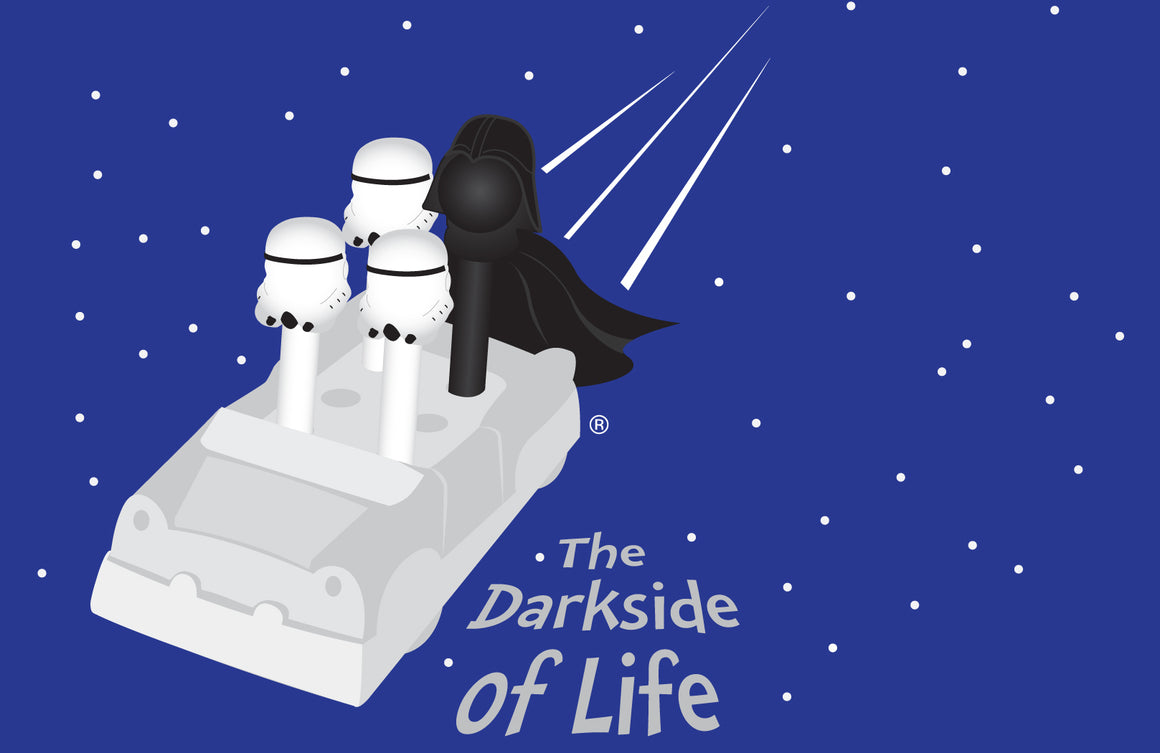 The Darkside of Life Magnet
