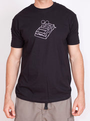 Men's PegLife Car Outline T-shirt - Black