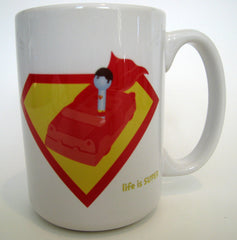 Life is Super Coffee Mug