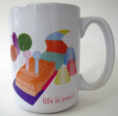 Life is Sweet Coffee Mug