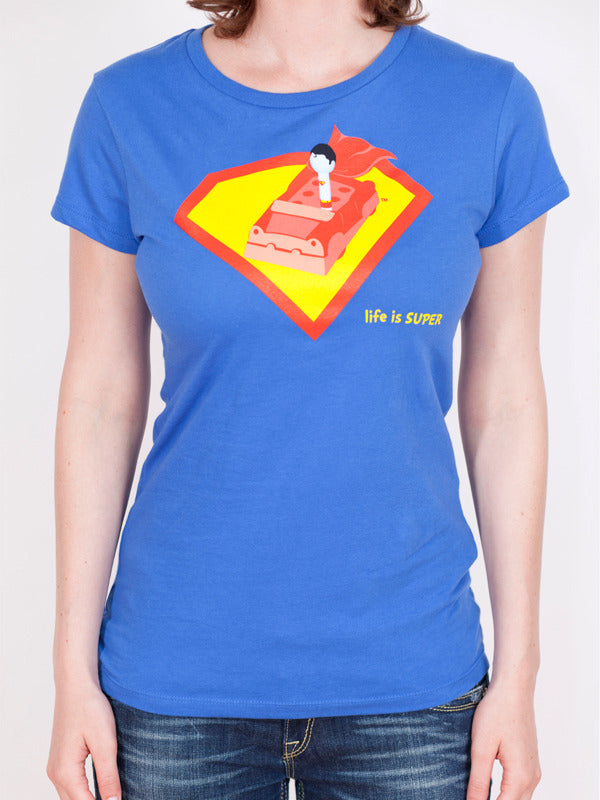 Women's Superman T-shirt - Life is Super