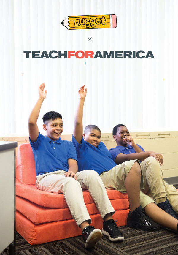 This Back-To-School, we're giving back with Teach For America