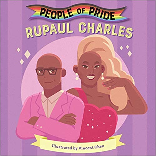 Book cover for People of Pride: Rupaul Charles