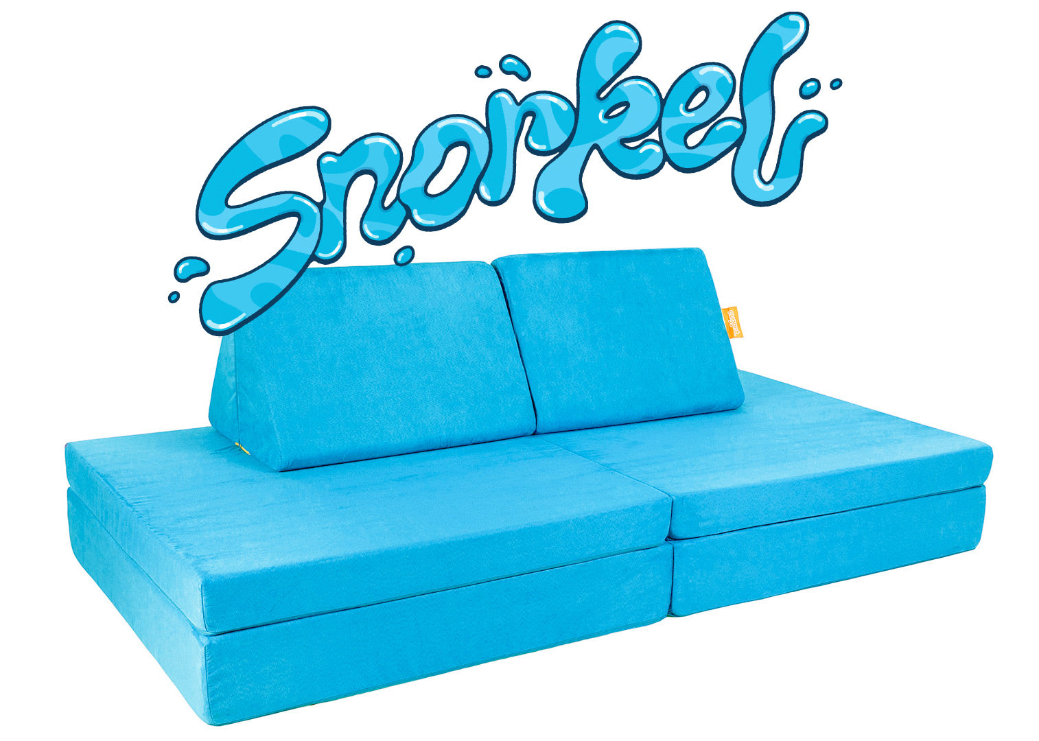 Snorkel Nugget couch on white backdrop