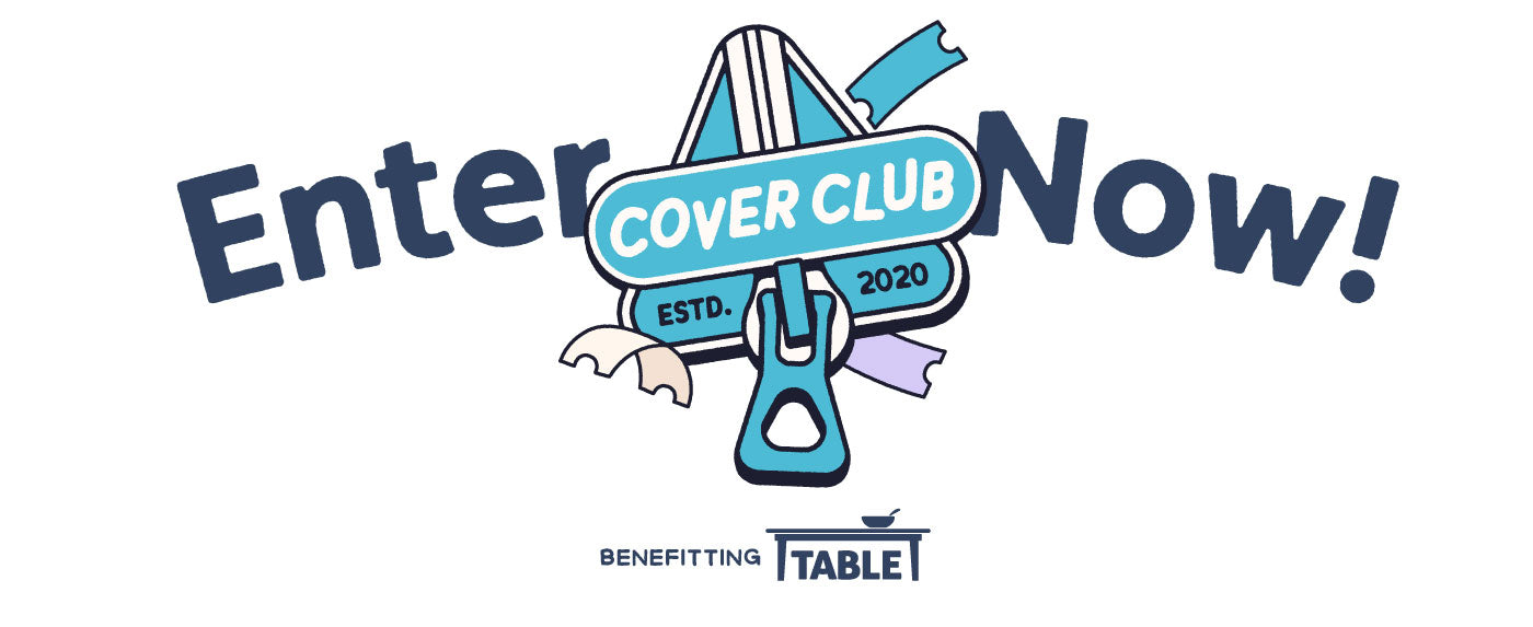 """Nugget Cover Club logo surrounded by words """"Enter Now!"""""""