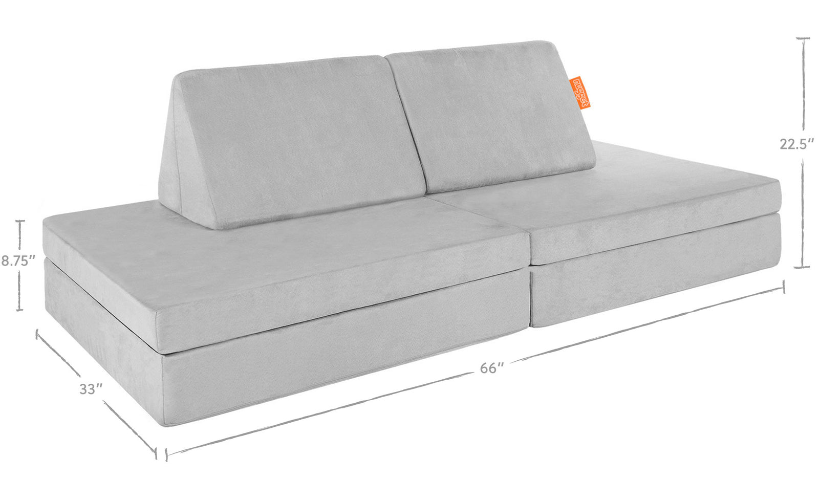 The Nugget | The original play couch | Free U.S. Shipping