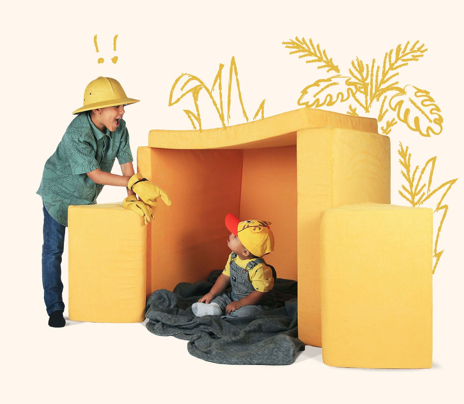 Strange Nugget Furniture For Growing Imaginations Theyellowbook Wood Chair Design Ideas Theyellowbookinfo