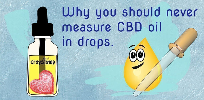Why You Should Never Measure CBD Hemp Oil In Drops