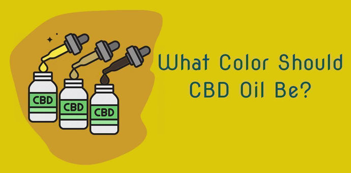 What Color Is CBD Hemp Oil Supposed To Be?