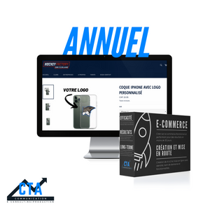Pack site E-commerce | Annuel