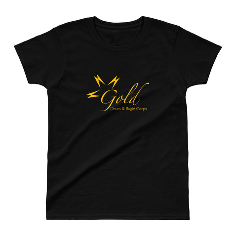 Women's Gold Logo T-Shirt