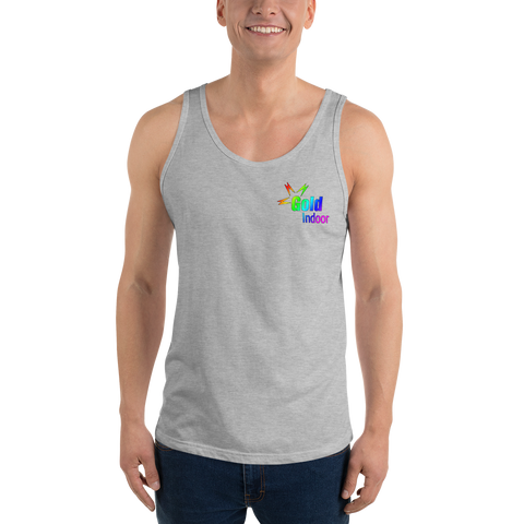 Gold Indoor Pride Unisex Tank Top