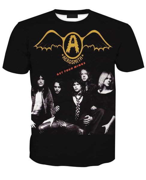 [Special] AEROSMITH Get Your Wings  T-shirt