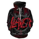 Black eagle slayer logo 3d full printed Hoodie