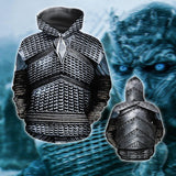 GOT White Wa-lker Armor [Jacket/ Hoodie/ T-shirt]