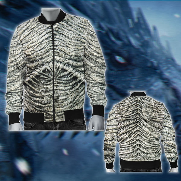 GOT White Walker Armor 2 [Jacket/ Hoodie/ T-shirt]
