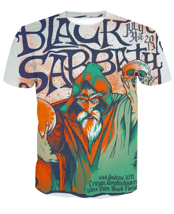 Black Sabbath 1 New 3D Design [Hoodie & T-shirt]