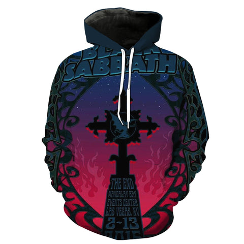 Black Sabbath 17 New 3D Design [Hoodie & T-shirt]