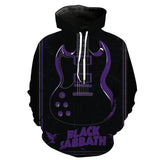 Black Sabbath 8 New 3D Design [Hoodie & T-shirt]
