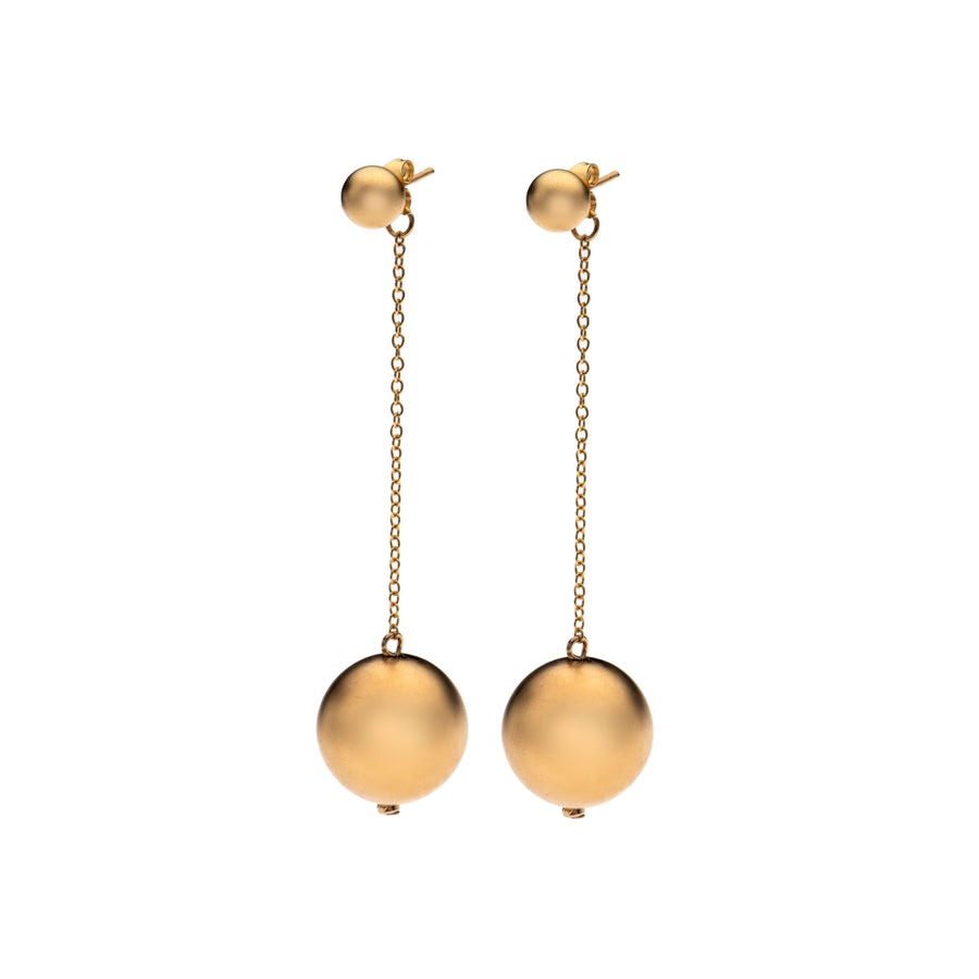 Lily - Stunning gold drop Earrings