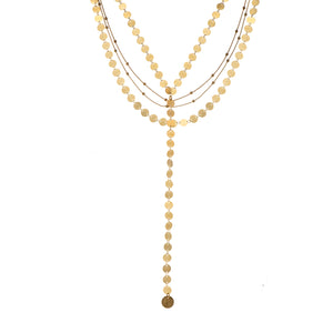 Marilyn - Multi-layer lariat necklace