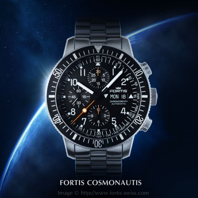 Fortis Cosmonautis Collection Luxury Watches by Upscaletime