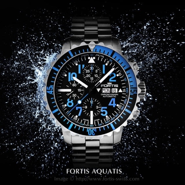 Fortis Aquatis Collection Luxury Watches by Upscaletime