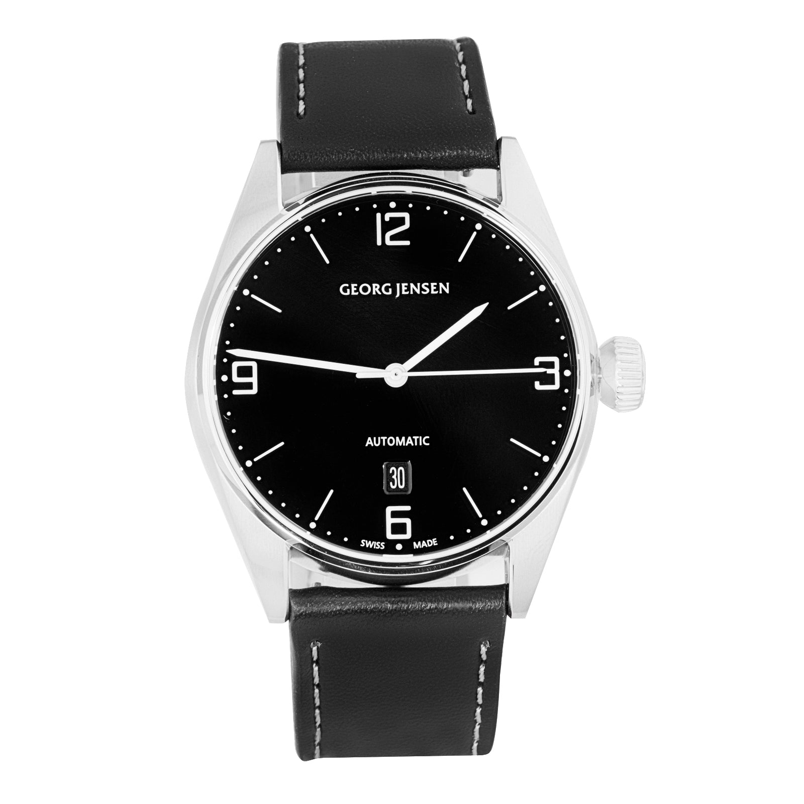 Georg Jensen Delta Automatic Swiss Made Danish Brand Men's Automatic Watch 3575592