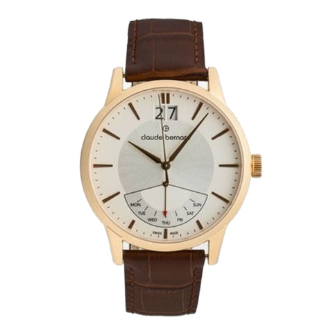 Claude Bernard By Edox Men's Classics Retrograde 41001.37R.AIR Swiss Made