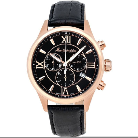 Fortuna Chronograph Men's Rose Gold Watch IDFOWCRC Swiss Made-Luxury Watches | Mens And Ladies Luxury Watches | Upscale Time