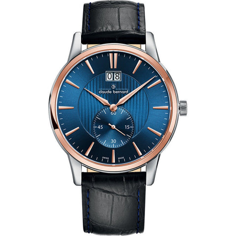 Claude Bernard By Edox Men's Sophisticated Classics 64005.357R.BUIR
