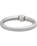 Mimi Milano 18k White Gold and Cultured Freshwater White Pearl Ring A364B1