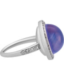 Mimi Milano 18k White Gold Diamonds And Lavender Moonstone Ring A458B8MLB