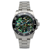 Aquacy 1769 Hei Matau Men's Automatic 300M Abalone Dive Watch 1769.AB.B.S