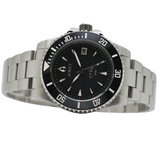 Aquacy 1769 Hei Matau Men's Automatic 300M Black Diver MOP Watch ETA 2824 1769.BMP.B.S.ET