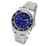 Aquacy 1769 Hei Matau Men's Automatic 300M Blue Diver Watch ETA 2824 1769.BL.B.S.ET