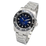 Aquacy 1769 Hei Matau Men's Automatic 300M Vintage Blue Black Dive Watch ETA 2824 1769.BLB.B.S.ET