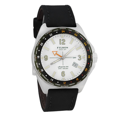 Shinola Journeyman GMT Men's Watch Made in USA F0110000317-Luxury Watches | Mens And Ladies Luxury Watches | Upscale Time