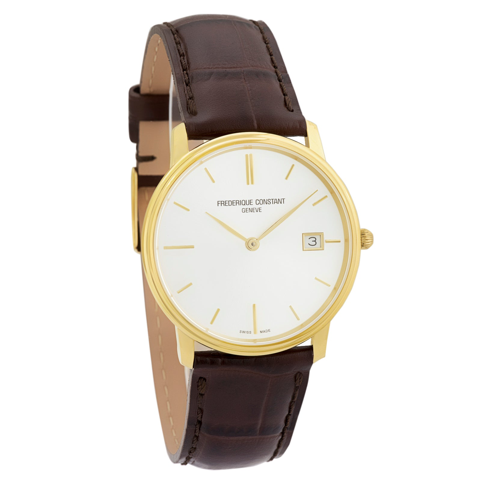 Slimline Classic Men's FC-220NV4S5 Swiss Made Watch-Luxury Watches | Mens And Ladies Luxury Watches | Upscale Time