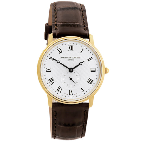Slimline Classic Unisex FC-235M4S5 Swiss Made Watch-Luxury Watches | Mens And Ladies Luxury Watches | Upscale Time