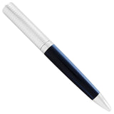 Espressione Sterling Silver Blue Ballpoint Pen ISNPCBSB-Luxury Watches | Mens And Ladies Luxury Watches | Upscale Time