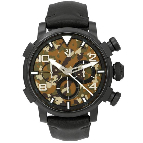 Pinup DNA WWII Lily Blue Chrono Auto Men Watch RJ.P.CH.002.01-Luxury Watches | Mens And Ladies Luxury Watches | Upscale Time